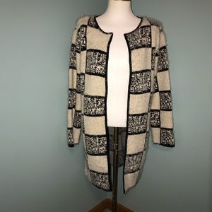 Simply Couture Wool Blend Cardigan Sweater M